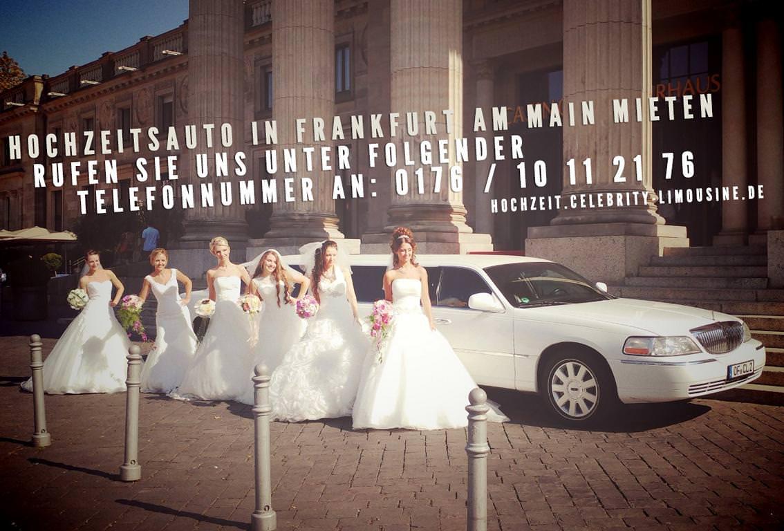 Hochzeitslimousine in Frankfurt am Main